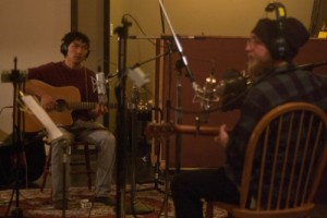 Hip Hatchet recording Joy and Better Days at the Map Room